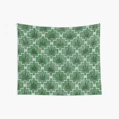 Green and Black Cannabis Honeycomb Print Wall Tapestry Tapestry Wall Hanging, Wall Hangings, Green Pattern, Cool Walls, Window Coverings, Tapestries, Honeycomb, Wall Prints, Psychedelic