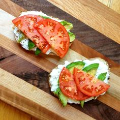 Avocado Toast with Cottage Cheese and Tomatoes  ALLDAY ENERGY - Heart healthy and reduces muscle fatigue and muscle cramps!   alldayenergy.net