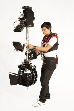 Buy New: $12,200.00: Electronics: Basson Steady System Constellation 2012 PRO 6 camera stabilizer system, steadycam, steadicam