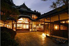 箱根。 三河旅館。
