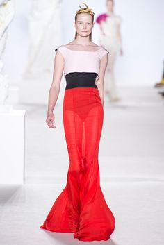 Giambattista Valli Fall 2013 Couture Fashion Show - Maud Welzen
