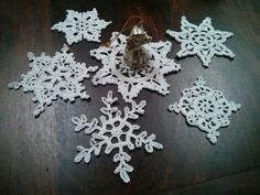 Check out this item in my Etsy shop https://www.etsy.com/listing/493410853/set-of-6-perfect-snowflakeschristmas