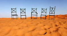 Ross McGinnes - limited edition prints - sahara seats