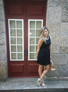 Coco and Jeans: Black Dress