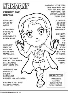 Let Girl Scout Superhero Harmony help your Girl Scout Daisies learn part of the Girl Scout Law and earn the Yellow Friendly and Helpful Daisy Petal.…