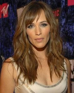 side bangs with waves. PERFECT section of bangs! Not too skinny; Not too thick! Just right!! Point cut the tips to feather it in.