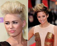 Best Mohawk and Fauxhawk Hairstyles for Women  #mohawk #fauxhawk #shorthair