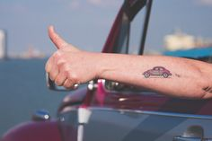 tattoo vw. I love it and would love it in yellow