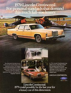 1979 Lincoln Continental Town Car & Coupe