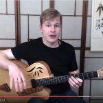 Chord melody jazz guitar