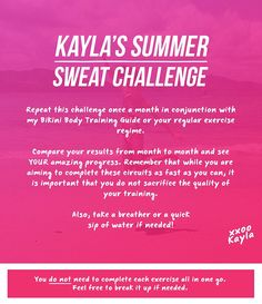 Kayla Itsines offers Summer Sweat Challenge and festive diet tips to help kick start a fitter 2015 | Daily Mail Online