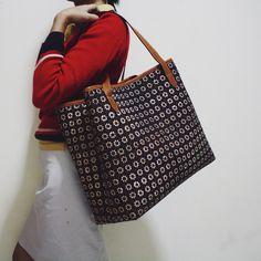 Truntum Batik pattern combined with Utari Tote Bag #djokdjabatik