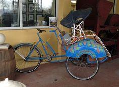 Cycle Rickshaw from Black Dog Salvage