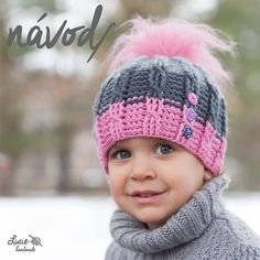 Crochet Baby Sweaters, Knitted Baby Clothes, Crochet Baby Hats, Crochet Beanie, Knitted Hats, Knitting For Kids, Crochet For Kids, Loom Knitting, Baby Knitting