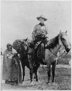 """Frank E. Webner, pony express rider"""