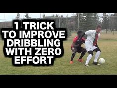 Learn how to improve your dribbling skills even if you are lazy and have no time to train: https://www.youtube.com/watch?v=_h_8dx28Gz4