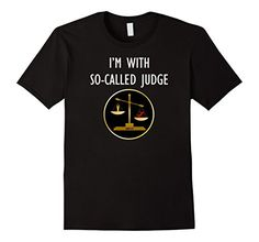 So-Called Judge Immigrant Refugee Anti Executive Order T Shirt in styles for men or women and five color choices. Wear to the next anti racism rally protest or use as a funny lawyer, attorney, or paralegal gift idea. https://www.amazon.com/dp/B01N5Y755K/ref=cm_sw_r_pi_dp_x_CW-MybWNBGT1W