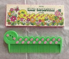 Avon 'Curly Caterpillar Comb'