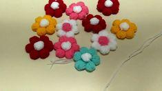 Puf Çiçek Yapımı