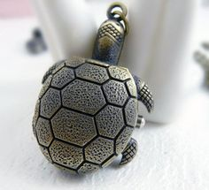 Sea turtle pocket watch necklace by fenasd99321 on Etsy, $3.99  Yes!! Love this