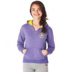 Keep her warm on those cool days with a fashionable hoody from Converse®. #back2school #hoody #girlsfashion