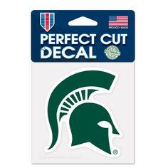 Michigan State Spartans 4×4 Perfect Cut Color Decal