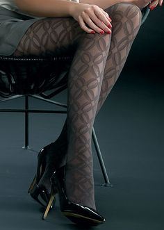Various Sizes /& Colours LEVANTE Sparkling Hearts Patterned Fashion Hold Ups