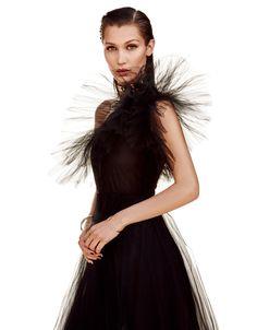 Bella Bellissima: Bella Hadid for Vogue Japan September 2016 - Valentino