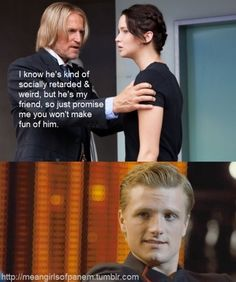 Mean Girls + The Hunger Games. I can't stop laughing.