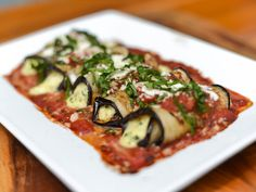 Grilled Eggplant Rollatini Recipe | Serious Eats