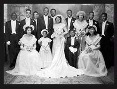 Vintage African American Wedding Party,1950s/1960s. Follow us @SIGNATUREBRIDE…