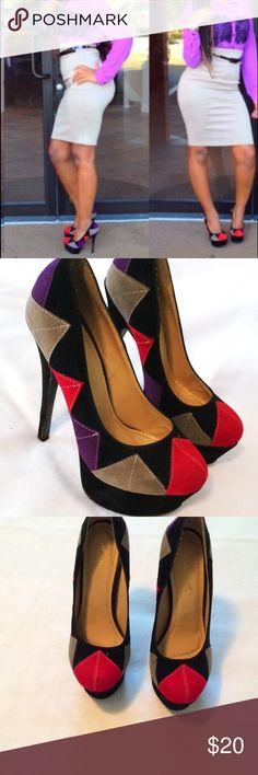 ‼️SALE‼️‼️ One of my fav heels. Worn twice Shoes Heels