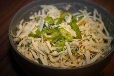 Celerový salát /Celery salad/ Zdravé, nízkosacharidové, bezlepkové recepty. (Healthy, low carb, gluten free recipes.)