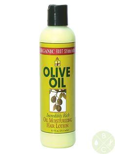 Organic Root Stimulator Olive Oil Moisturizing Hair Lotion (SMELLS GREAT!)