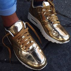 Nike Air Max One Gold