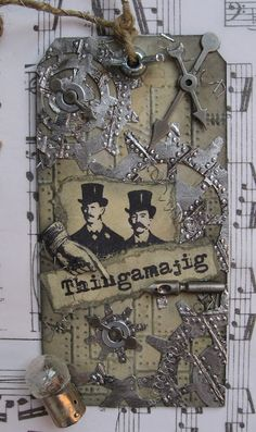 inkypinkycraft: a happy steampunk tag swap..