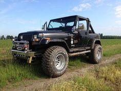 1993 Jeep Wrangler YJ.