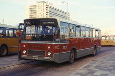 Bus 401, DAF-Hainje, de eerste rode standaardbus, lijn 50, Stationsplein