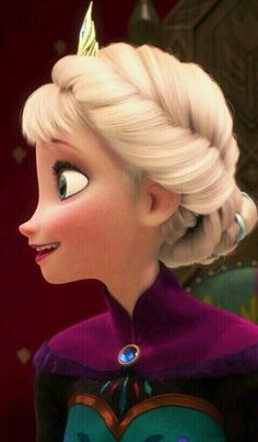 "Anna: ""knock, knock...?"" Elsa: ""Anna just stop trying.!"""