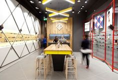 Kite store by Fourmation. Optician retailers