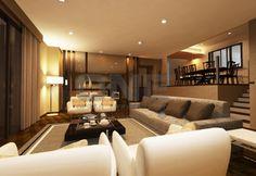 Condo interior design