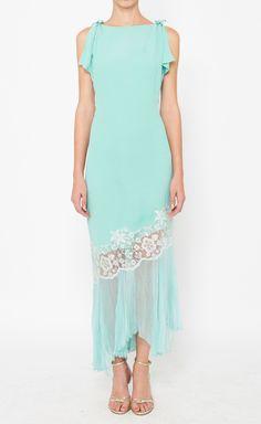 Emanuel Ungaro Blue Dress | VAUNTE