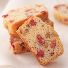Orange Rhubarb Bread Recipe from Taste of Home