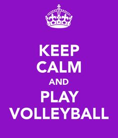 Yes... I am a volleyball girl<3