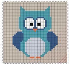 Owl Blanket Crochet Pattern. - ✁ CK Crafts
