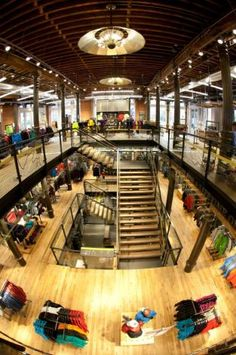 rei store interior | REI SoHo Interiors photography on Tuesday, November 22, 2011 in New ...