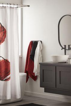 Flower Shower Curtain, Bathroom Collections, Towel Holder, Modern, Towel Racks, Trendy Tree, Towel Hanger