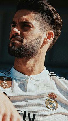 Real Madrid Team, Isco Real Madrid, Real Madrid Football Club, Paris Saint Germain Fc, Cristino Ronaldo, Real Madrid Wallpapers, Spanish Men, Isco Alarcon, Fc Bayern Munich