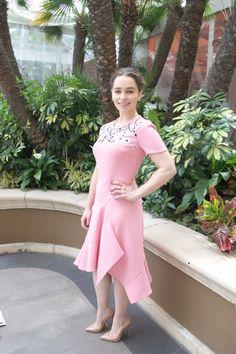 Emilia Clarke attended 'Game of Thrones: Season Press Conference in Hollywood 2016 Hottest Female Celebrities, Hollywood Celebrities, Celebs, Emilia Clarke 2016, Emilie Clarke, Clarke Game Of Thrones, Daenerys Targaryen, Khaleesi, Ec 3