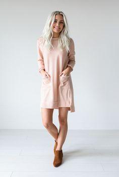 Cozy Pink Long Fleece shirt